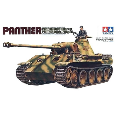 Tamiya 35065 1/35 Panther Tank MDM Plastic Model Kit New