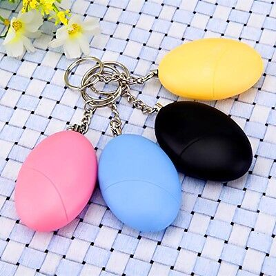 Anti-rape Attack Device Alarm Loud Alert Keychain Safe For Personal  Super
