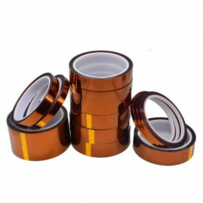 33M Heat Resistant Polyimide High Temperature Adhesive Insulation Tape 3-30mm