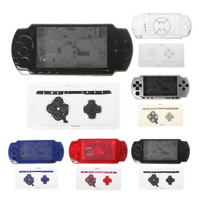 PC+ABS Replace Full Housing Shell Case With Button Kit For Sony PSP 2000 Console