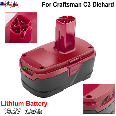 For 19.2V Craftsman C3 3.0Ah XCP Lithium Ion Battery 11375 11376 PP2030 Tools BT