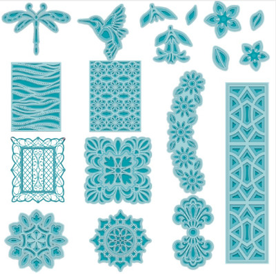 Layers Lace Model Metal Cutting Dies Stencil Scrapbooking Embossing DIY Crafts