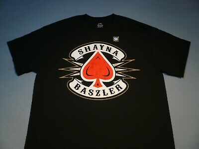 WWE Shayna Baszler NXT Queen of Spades BRAND NEW Shirt NWOT M L XL 2XL