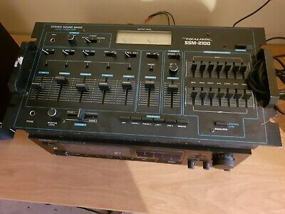 Realistic Stereo Sound Mixer - MODEL: SSM 2100