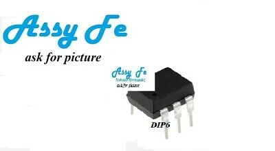 SFH600-2 IC DIP6 Optocoupler DC-IN 1-CH Transistor With Base DC-OUT 6-Pin