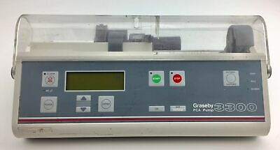 Graseby - 3300 - PCA Pump - Automatic Syringe Driver Infusion - Without lock & K