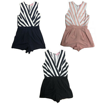 Kids Girls Party Outfit Playsuit Jumpsuit Romper Shorts Summer Fashion