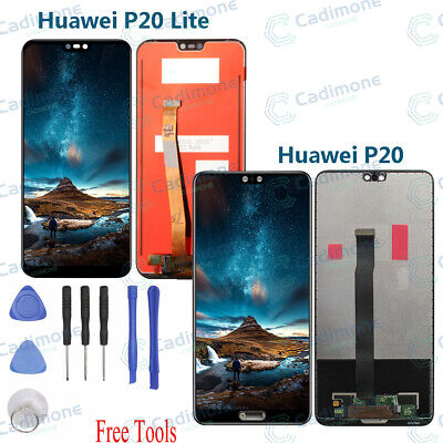Display LCD Touch Screen Digitizer Replacement Per Huawei P20 / P20 Lite RHN02