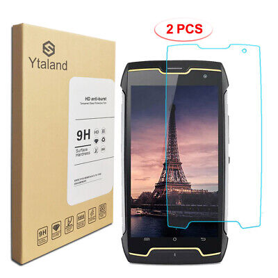 [2 Pack] Tempered Glass Film Cover Screen Protector For Cubot King kong