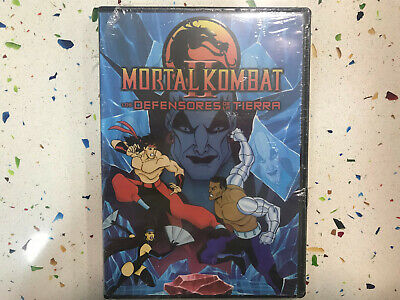 Mortal Kombat DVD les Defenders Of The Earth Neuf Scellé New Sealed Combat