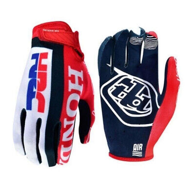 Guanti Cross Enduro Troy Lee Designs Air Glove Tld Honda Team Hrc Taglia M Red