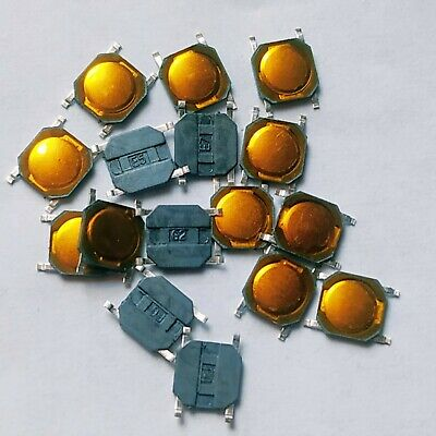10x SMD Microtaster Push Button micro switch _ 4x4x0.8mm