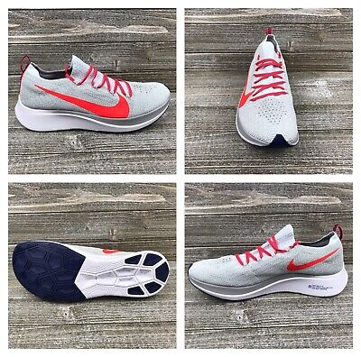 f68fe7d2a292 Nike Zoom Fly Flyknit Pure Platinum Running Shoes  AR4561-044  Men s Sz 9