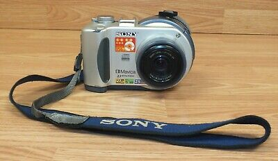 Genuine Sony (MVC-CD200) CD Mavica 2.1 Mega Pixels Digital Still Camera **READ**