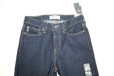 NWT Abercrombie Kids Boy's Jeans 11/12 Dark Blue Classic Fit Denim Pants