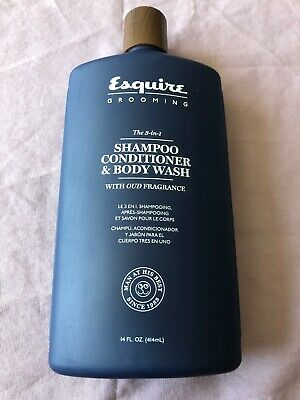 2904d57bedf2 Esquire Grooming The 3-in-1 Shampoo, Conditioner & Body Wash ~ 14
