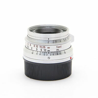 Leica Summicron M35mm F2 (8-element) Made in Germany (ML compatible) #100