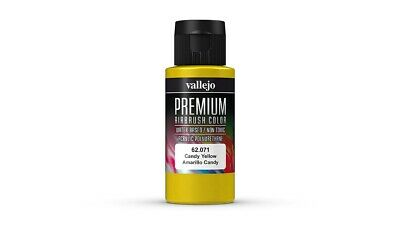 VAL62071 - AV Vallejo Premium Color - 60ml -  Candy Yellow