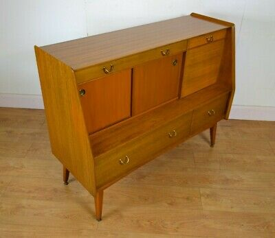 G PLAN Librenza Cocktail Cabinet / High Sideboard E. GOMME1960s Teak Mid Century