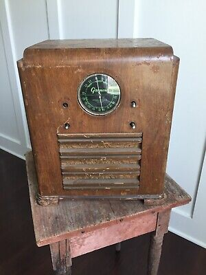 1930's Grunow 654 Mini Console / Tombstone Antique Radio As Is Parts Repair 6N