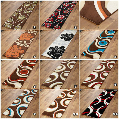 New Clearance Rugs Sale Budget Price 60X220Cm Runner Floral Carved Heatset Mats