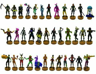 OFFICIAL FORTNITE 8cm ACTION FIGURE STAMPERS 4 PACK NEW 2019