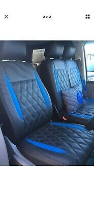 Vw Transporter T5 Seat Covers Kombi 5 Seater  1+1 front row And 1+2 Second Row