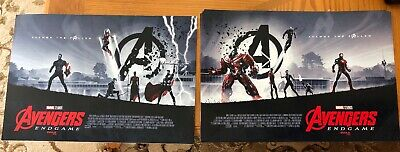 "AVENGERS ENDGAME AMC IMAX EXCLUSIVE POSTER 11"" x 15.5"" Week 1 & 2"