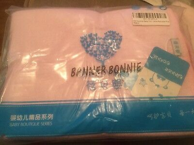 2 X Banner Bonnie Pink Urine/Changing  Mat - Summer Pink - Reuseable 68 x 50 cm