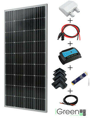 Kit panneau solaire 170W 12V pour camping car complet marque iGreen