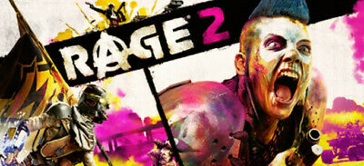 Rage 2 Pc Steam Account Multilanguage