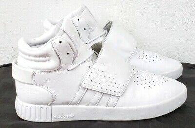 size 40 2415f 8bcc3 ADIDAS ORIGINALS MENS Tubular Invader Strap Casual Lace Up Hi Top Trainers  Shoes