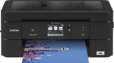 Brother - Work Smart Series MFC-J895DW Wireless All-In-One Printer - Black