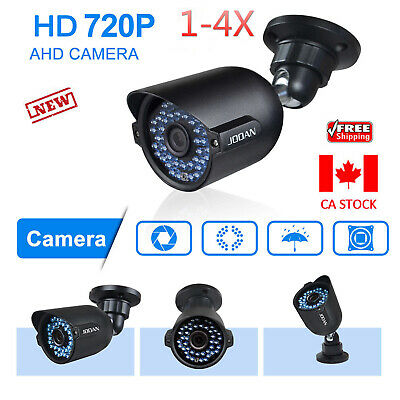 JOOAN 2X/4X HD 720P TVI Outdoor CCTV DVR Security Camera Night Vision Waterproof