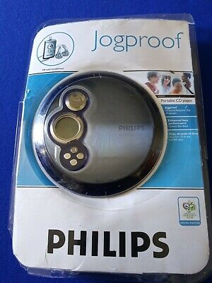 NEW Philips JOGPROOF Portable CD Player AX2420/17 45 Sec Skip Protect FM Radio