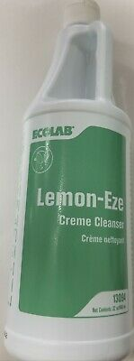 Ecolab 13094 LemonEze Cream Cleanser Pro-Strength Lemon-Eze Blasts Grime Grease