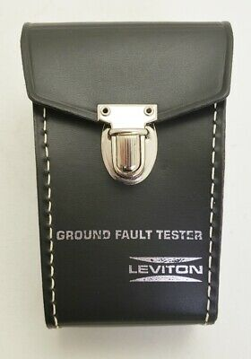 New Leviton 6182-PRT Carrying Case for 6185 GFCI Circuit Tester
