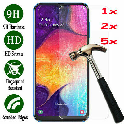 For Samsung Galaxy A10 A20 A30 A40 A50 A60 A70 A80 A90 Screen Tempered Glass jc