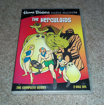 The Herculoids Complete Series on DVD