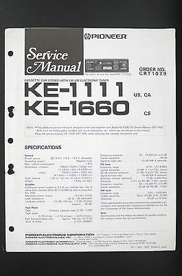 VINTAGE PIONEER KE-1111 Cette Player AM/FM Car Stereo ... on box dimensions diagram, box frame diagram, box wiring globe, box engine diagram, box parts diagram, box brochure, box fan diagram, box heater, box motor,