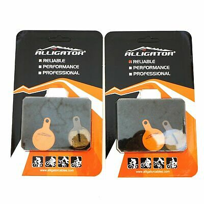 2 PAIRS BICYCLE DISC BRAKE PADS FIT TEKTRO IOX LYRA NOVELA DISC BRAKE H//P