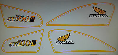 Cx500C Custom Full Paintwork Decal Kit