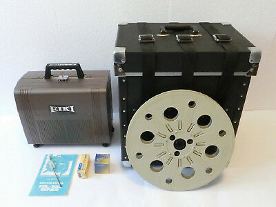 Limited edition Eiki SSL-0 16mm, Original Carrying Case, Auto Reel, Spare lamps