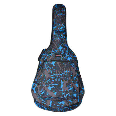 36inch Acoustic Guitar Bag Cover Backpack Double Strap Storage Soft Case