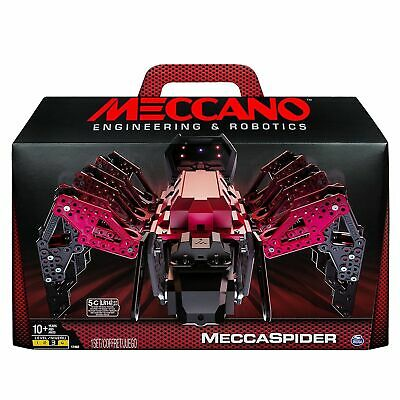 MECCANO ENGINEERING AND Robotics MeccaSpider by Spin Master NEW
