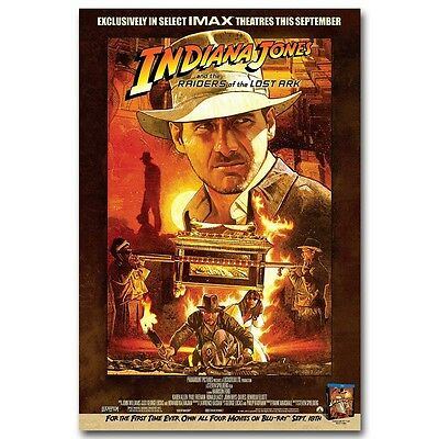 Indiana Jones and the Raiders of the Lost ark Movie Canvas Poster Art Prints