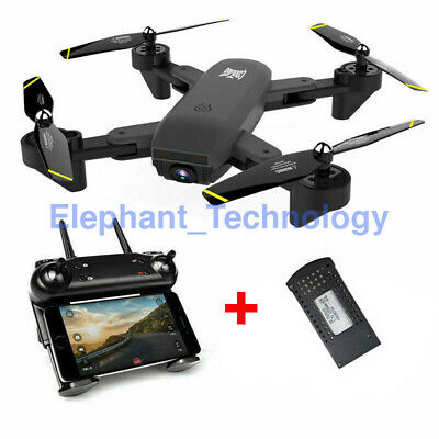 S169 Cooligg Drone X-Pro Selfie WIFI FPV Dual HD Camera Foldable RC Quadcopter
