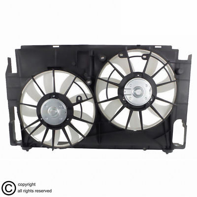 Radiator and AC Condenser Cooling Fan Kit Left Right Pair for 05-10 Odyssey Van