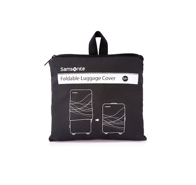 Samsonite Travel Link Accessories Foldable Luggage Cover M+ (Plus) Black