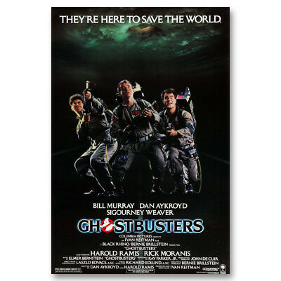 Ghostbusters Classic Movie Canvas Poster Art Prints 8x12 24x36 inch Home Decor